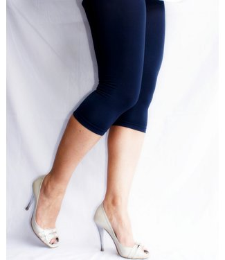 DECOY UltraSoft Viscose caprilegging blauw