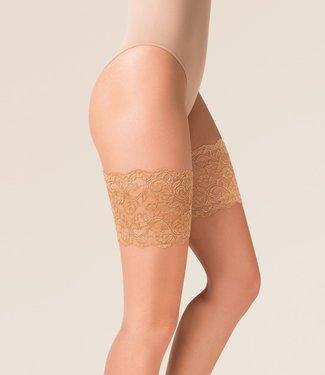 Gabriella Thigh anti-schuur kousenband huidskleur