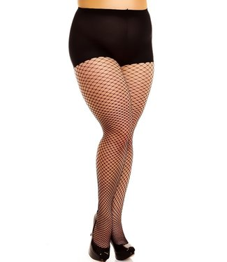 GLAMORY Mesh netpanty voor grote maten
