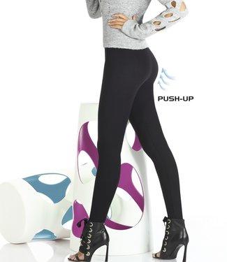 Bas Bleu Octavia zwarte push-up legging