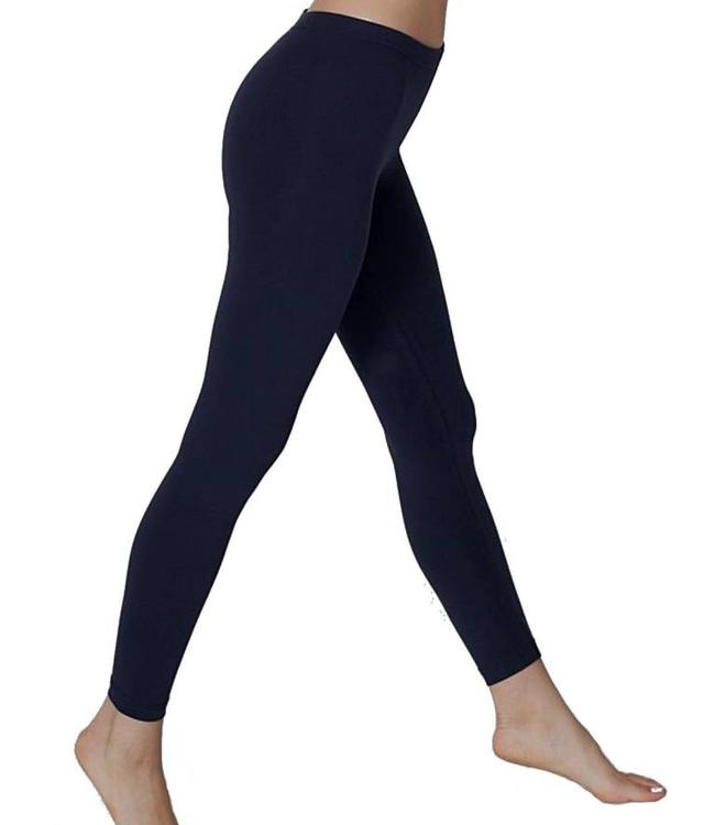 Re-Legs Rose katoenen basic legging Donkerblauw