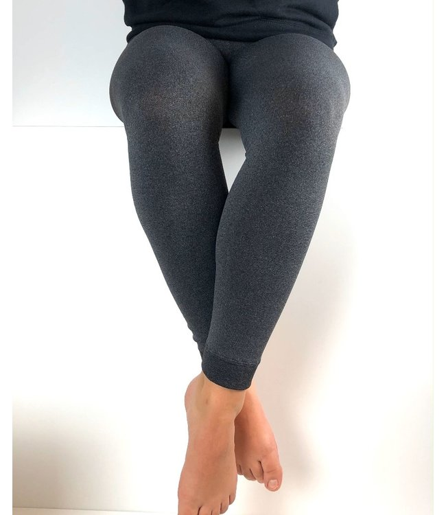 MARIANNE Snow thermo legging antraciet melange