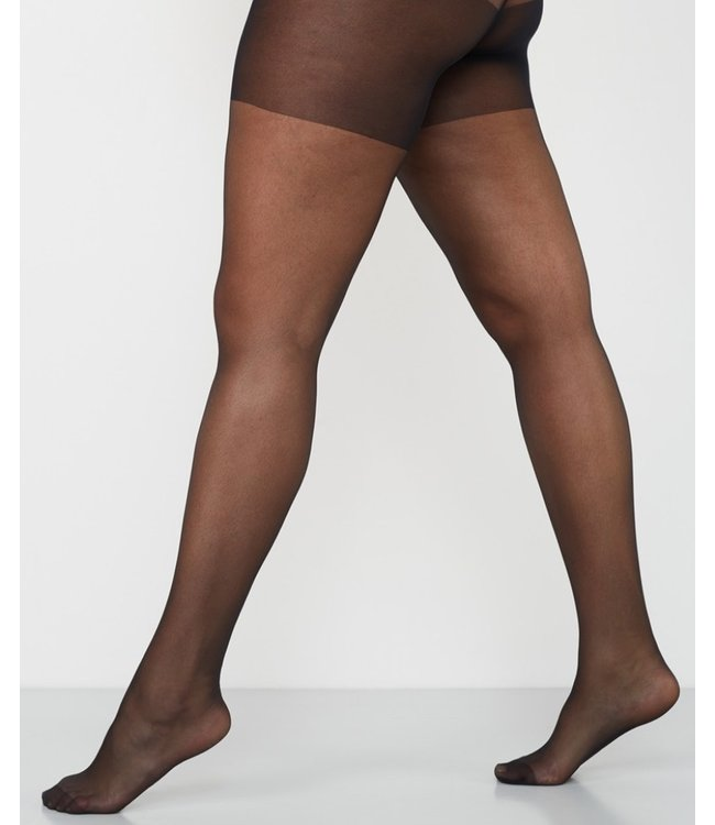 CETTE Madison 20 zwarte grote maat panty