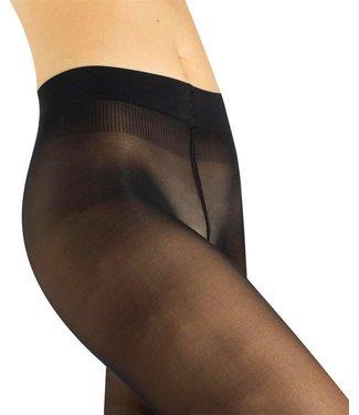 CETTE Jersey 30 zwarte plussize panty