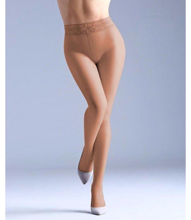 GIULIA Impresso 20 kanten taille panty huid