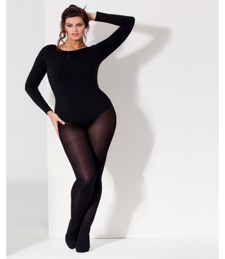 CETTE Glasgow 50 Size Plus panty zwart