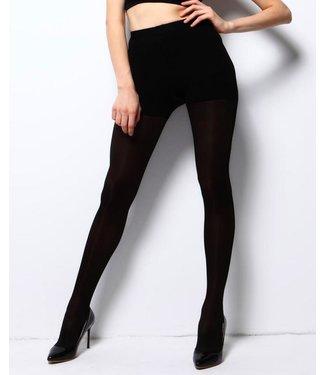 MARIANNE Angela 200 denier dikke 3D panty zwart