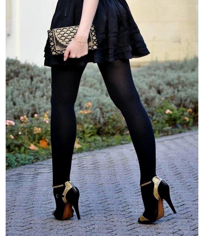 MARIANNE Eva katoenen maillot zwart