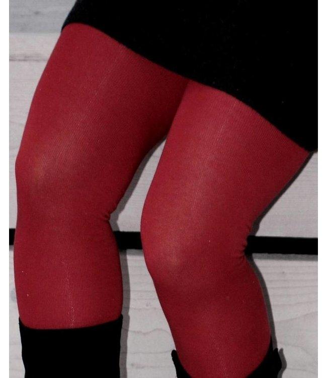 BONNIE DOON Ladies Plain maillot katoen rood