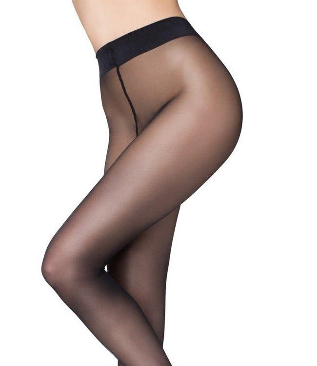 MARILYN Naked 20 zwarte  sheerpanty