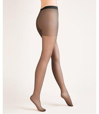 GABRIELLA Classic 20 panty satijnglans zwart