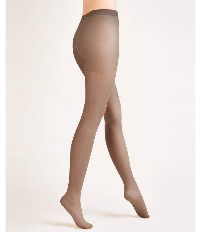 GABRIELLA Classic 20 bruine panty Muscade