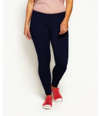 MARCMARCS Cotton Slide blauwe katoenen leggings