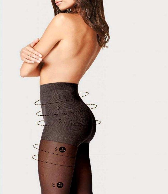 FIORE Comfort 40 zwarte support panty