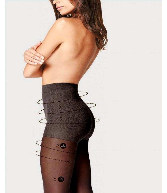 FIORE Comfort 40 support panty zwart