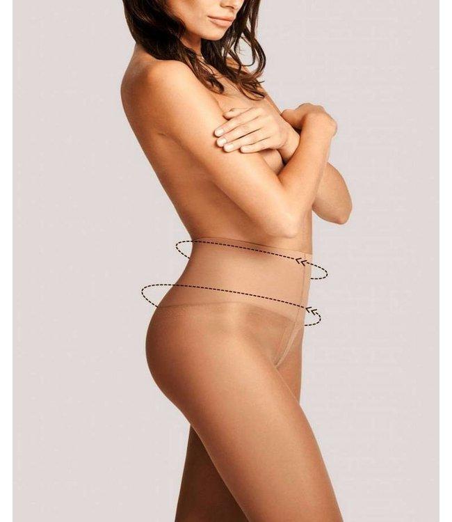 FIORE Fit Control 20 panty huidkleur Tan