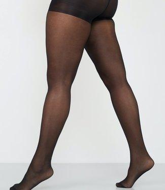 CETTE Seattle Plussize 30 glanspanty zwart