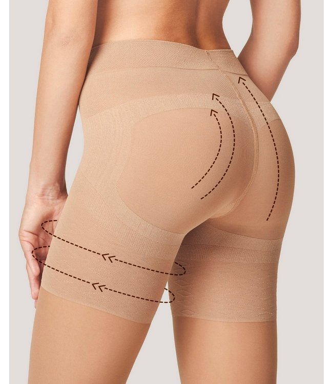 FIORE Press Up 40 Control panty huidkleur