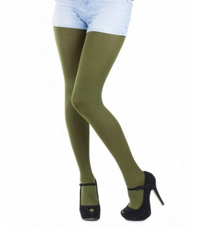 APOLLO Iceland 100 groene matte panty