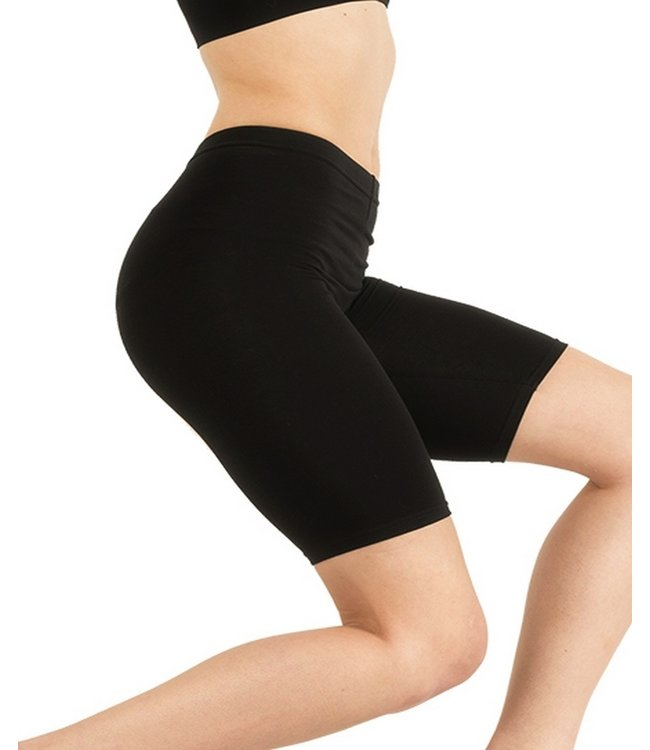 SARLINI Toulon zwarte katoenen shorts leggings