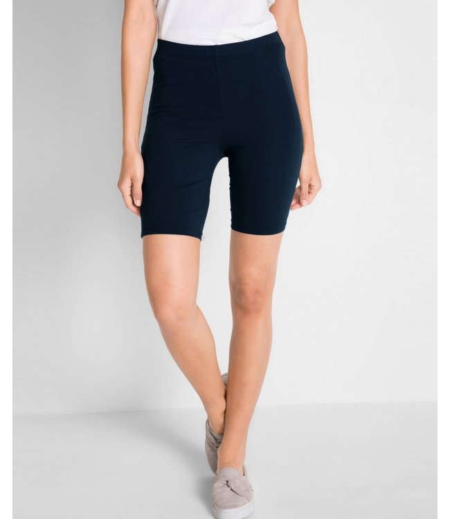 MARIANNE Marseille katoenen shorts blauw