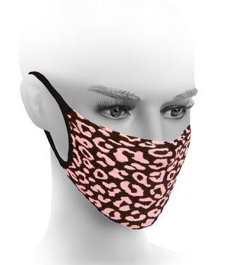 FIORE Lexi mondkapje zwart / roze