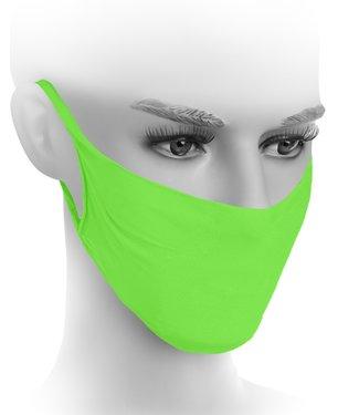 FIORE Stay Safe mondkapjes neon groen