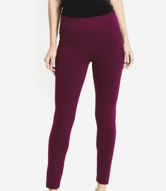SARLINI Rose bordeaux rode katoenen legging