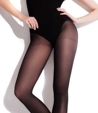 FIORE Nina 40 semi-transparante panty zwart