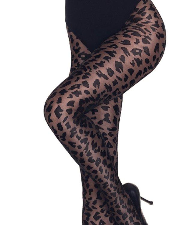 MARCMARCS Leopard 20 panty met dierenprint