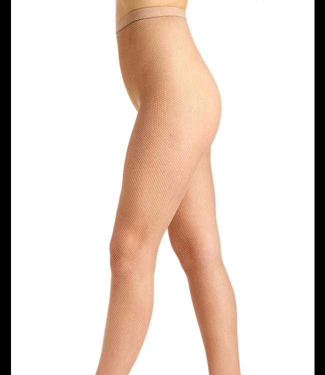 BAS BLEU Corrida netpanty huidkleur Natural