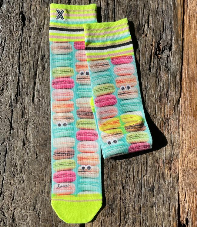 XPOOOS Macarons sokken