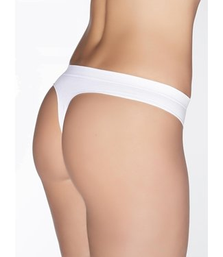 GIULIA Invisible ultrazachte string Wit
