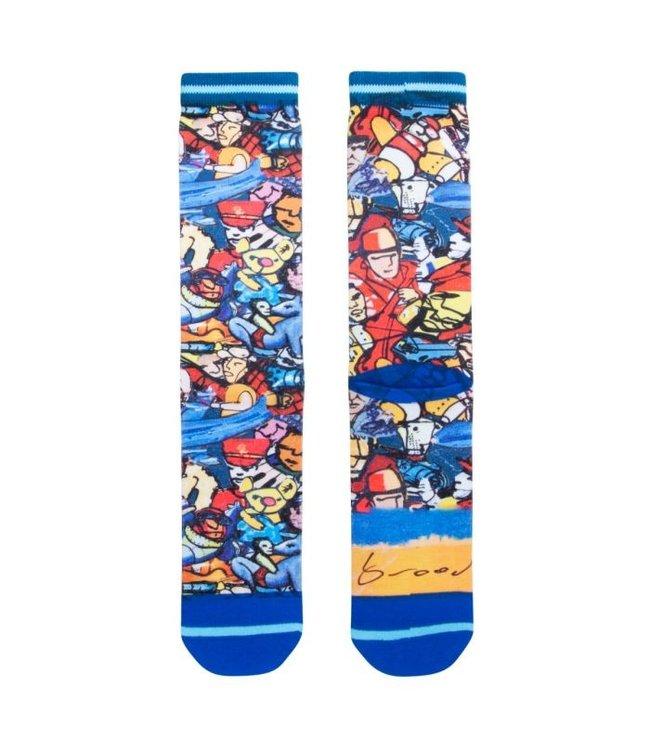 XPOOOS Herman Brood sokken