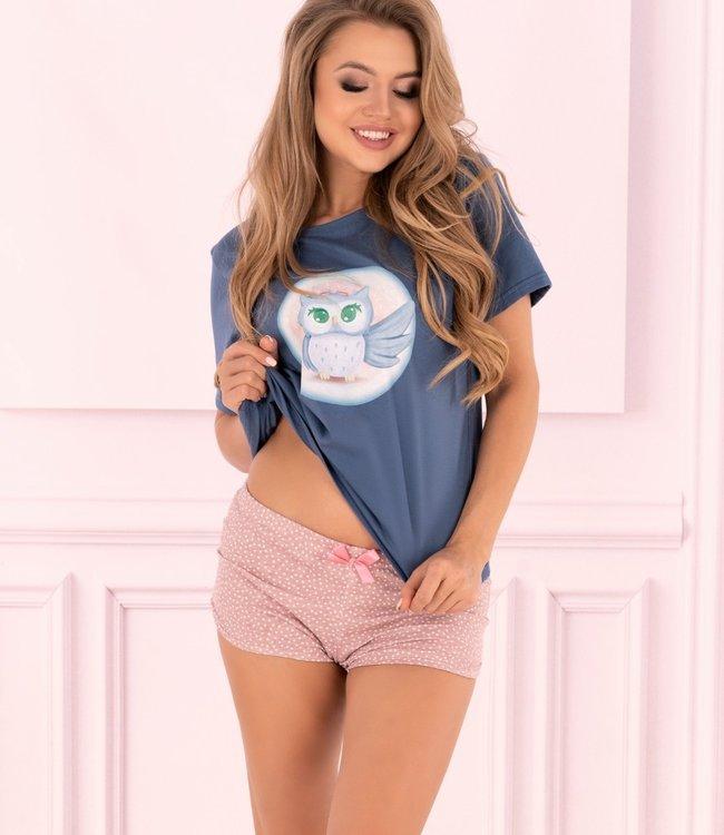LIVIA CORSETTI Baby Uil pyjama shirt en broekje