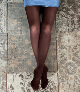 FIORE Roza 60 denier matte panty donkerbruin