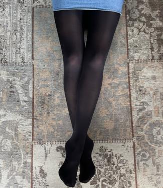FIORE Roza 60 matte panty zwart