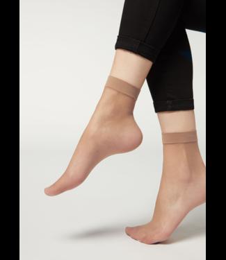 GIULIA Easy 15 huidkleur pantykousjes | 2 PAAR