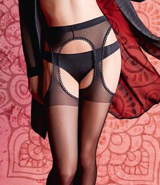 GIULIA Love 20 zwarte strippanty