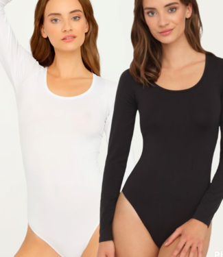 GATTA Body Perfect luxe stringbody in zwart of wit