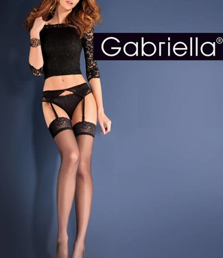 Gabriella Shadow 15 zwarte gordel & kousen
