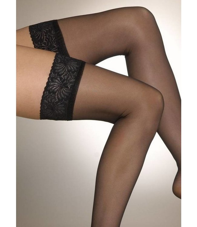 ARISTOC Ultra Shine 10 hold ups zwart