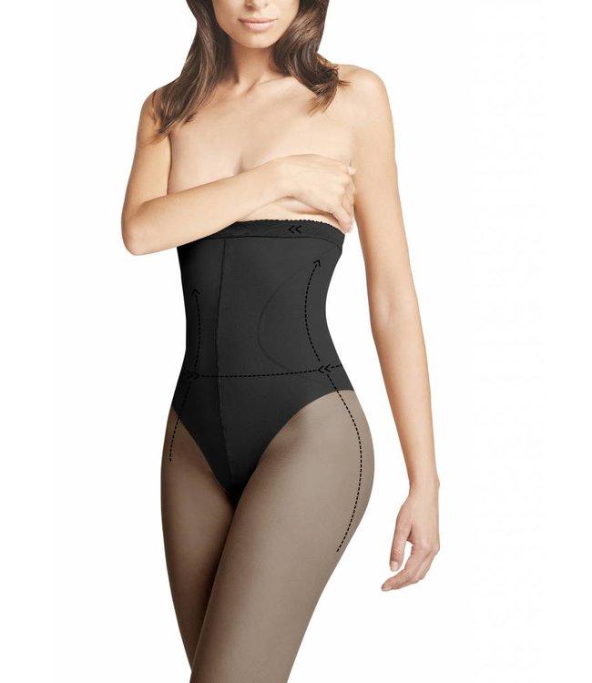 FIORE High Waist Bikini 20 zwarte taillepanty