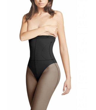 FIORE High Waist Bikini 40 zwarte taillepanty