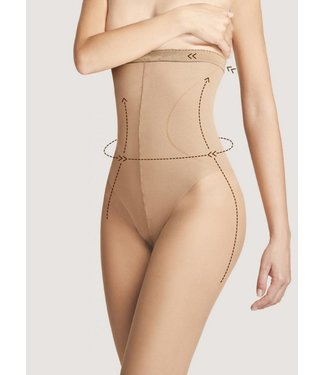 FIORE High Waist Bikini 40  huidkleur taillepanty