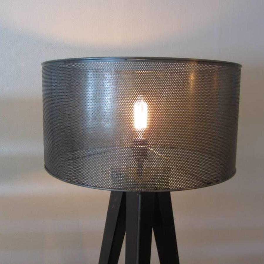 Industriële Stalen Lampenkap WIRE