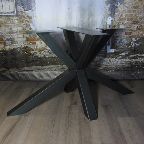 Stalen tafelpoten