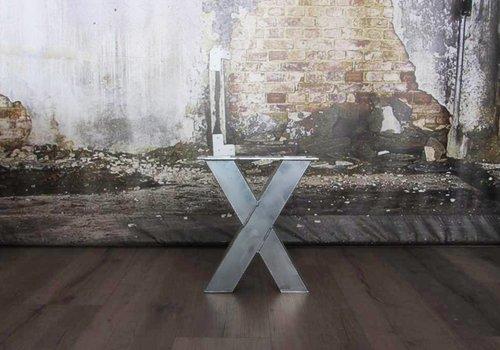 Bankpoot model X verzinkt