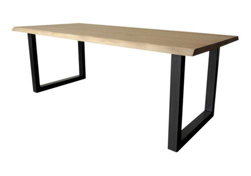 Industriële tafel met standaard U tafelpoten
