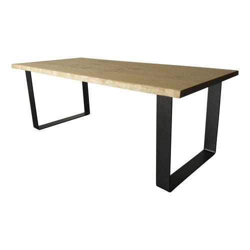 Industriële tafel met strip tafelpoten